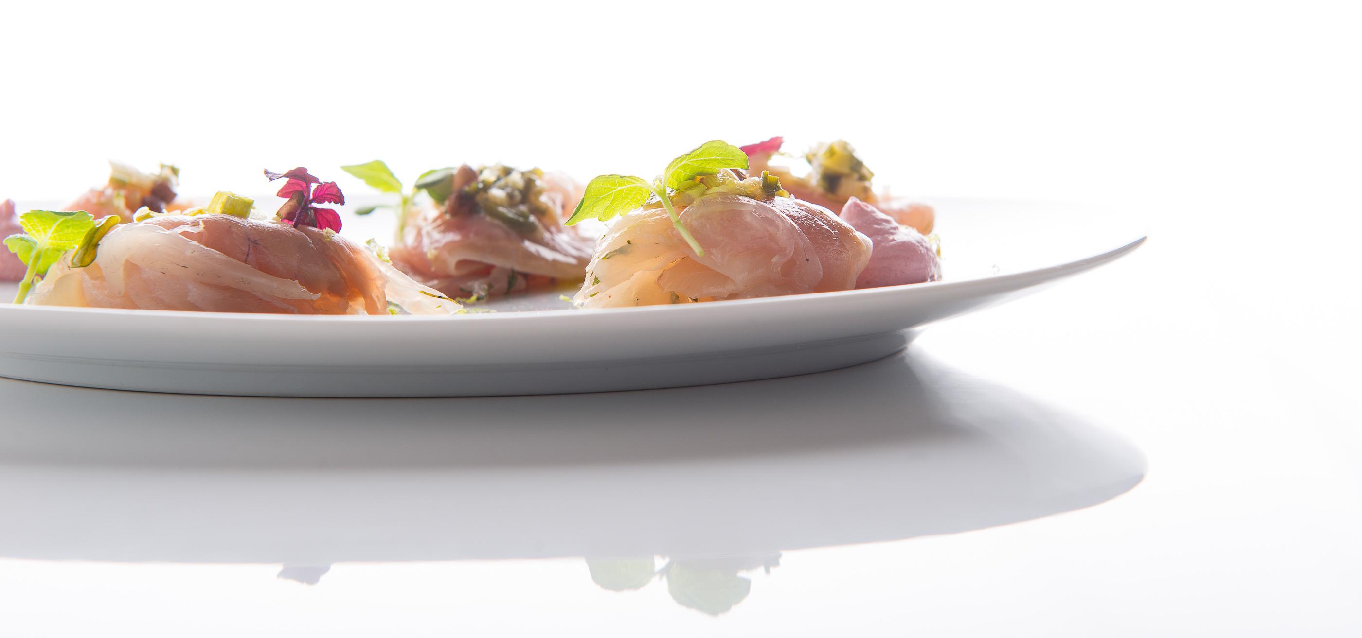 dressage assiette restaurant gastronomique
